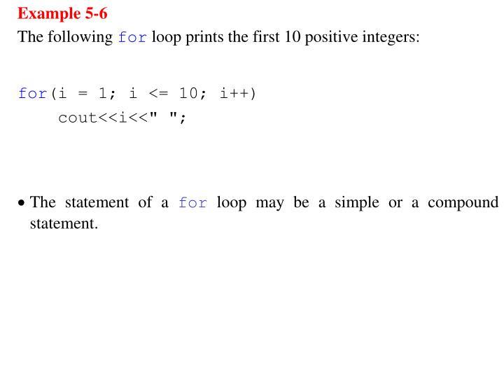 Example 5-6