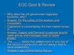 eoc goal 8 review1