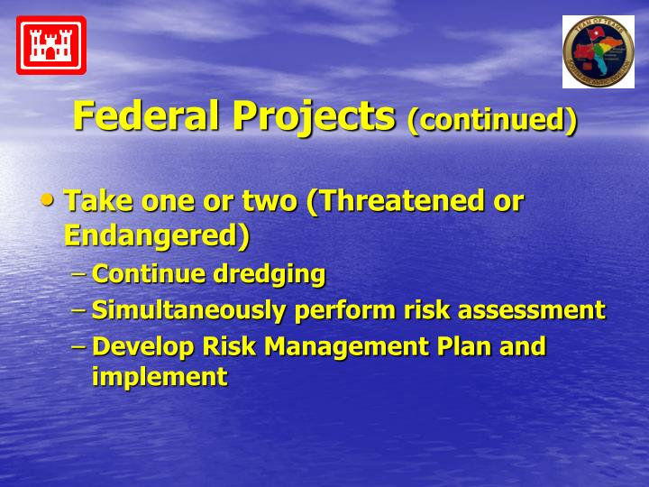 Federal Projects