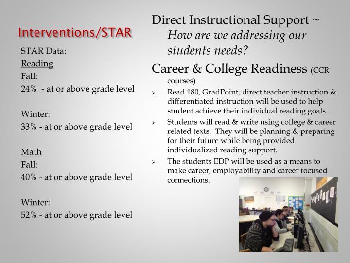 Interventions/STAR