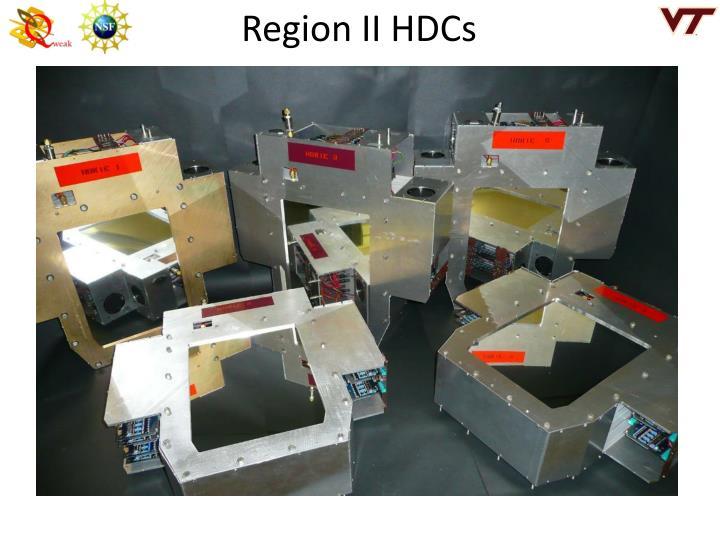 Region II HDCs