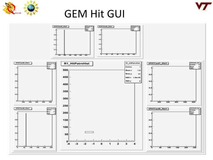 GEM Hit GUI