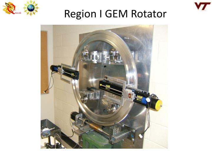 Region I GEM Rotator