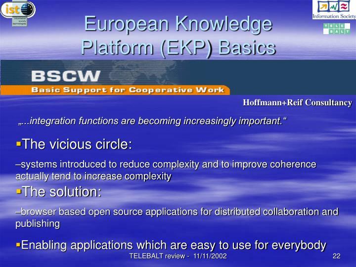 European Knowledge