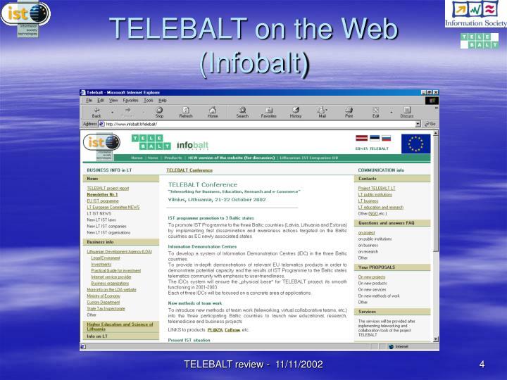 TELEBALT on the Web (Infobalt)