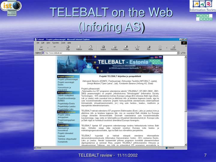 TELEBALT on the Web (Inforing AS)