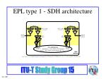 epl type 1 sdh architecture