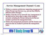 service management channel g smc