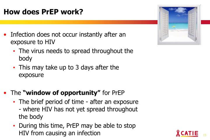 How does PrEP work?