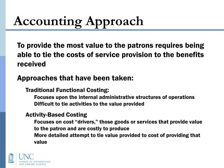 Accounting Approach