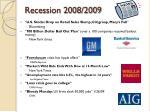recession 2008 20091