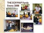 the eof map family events 2008