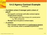 9 4 2 agency contract example continued1