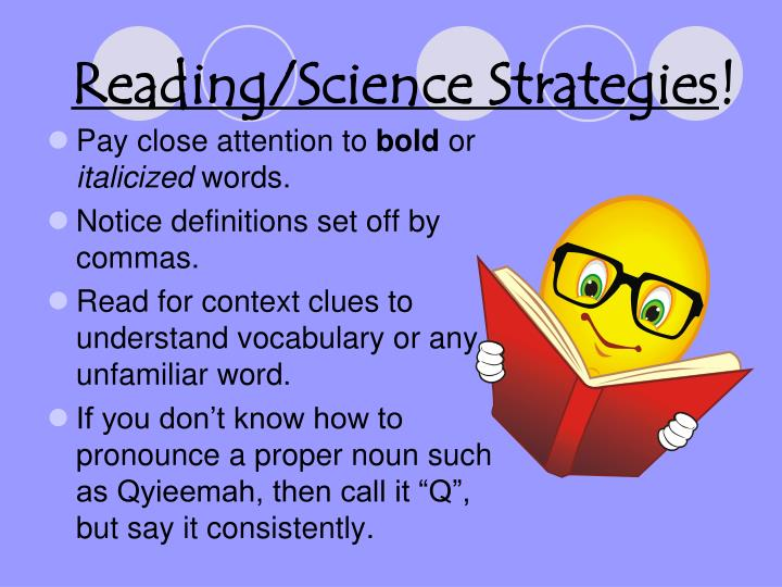 Reading/Science