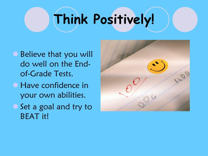 Think Positively!