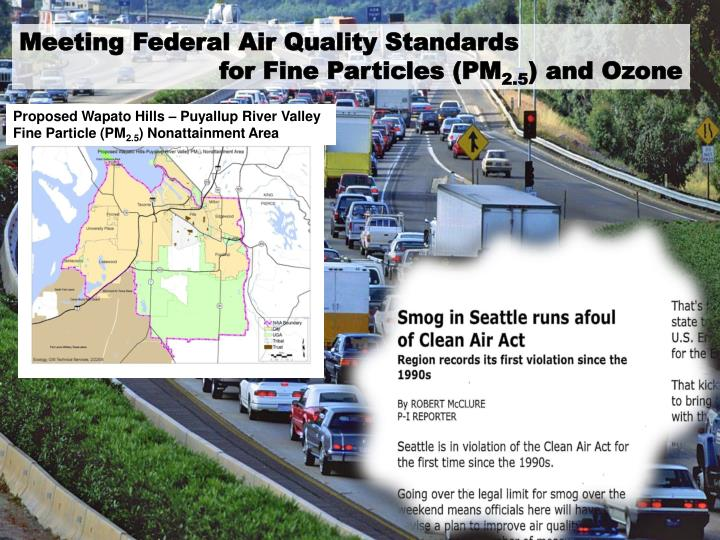 Meeting Federal Air Quality Standards