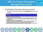 abs 2 0 feature description manage data cont d1