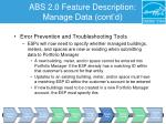 abs 2 0 feature description manage data cont d10