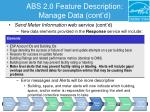 abs 2 0 feature description manage data cont d4