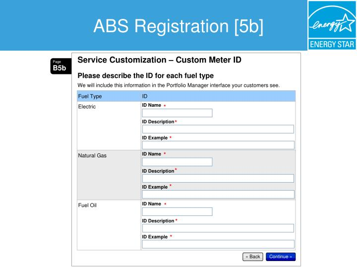 ABS Registration [5b]