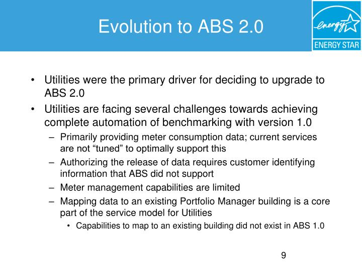 Evolution to ABS 2.0