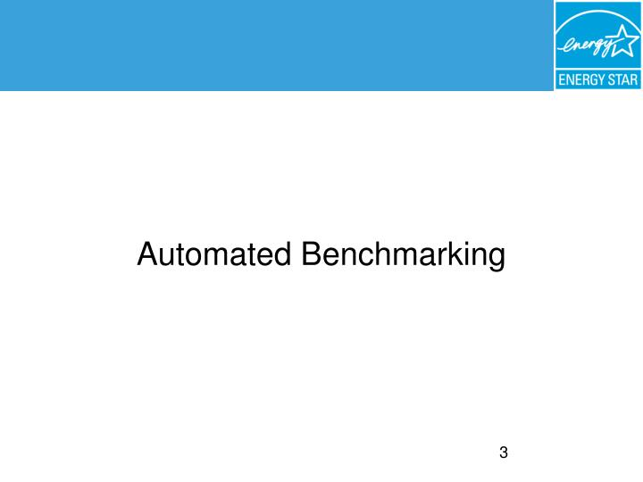 Automated Benchmarking