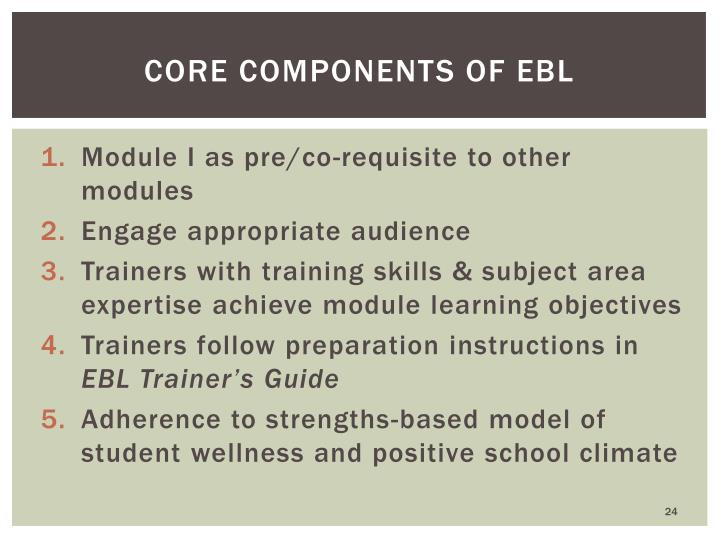 Core Components of