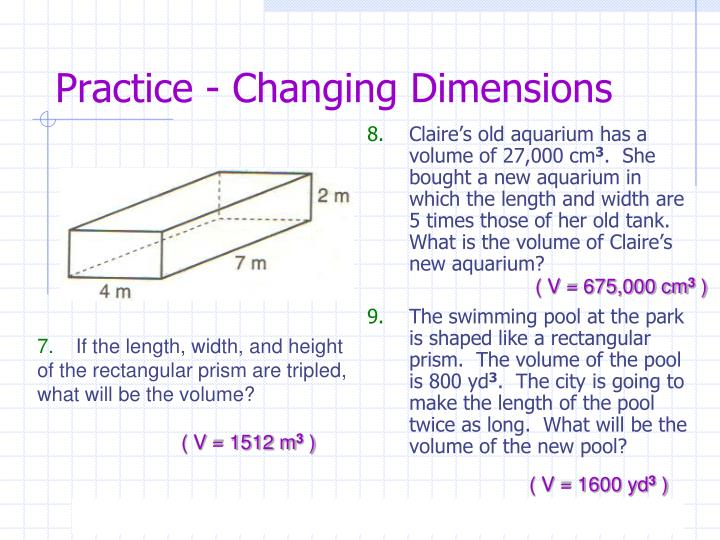 Practice - Changing Dimensions