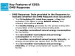key features of eses dms response