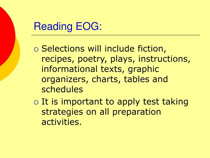 Reading EOG: