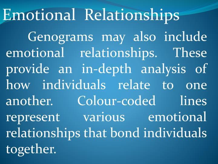 Emotional  Relationships