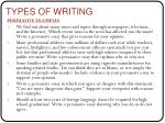 types of writing3