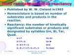 multi reactant enzymes reactancy