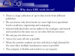 why does ebl work for us