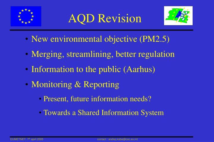 AQD Revision