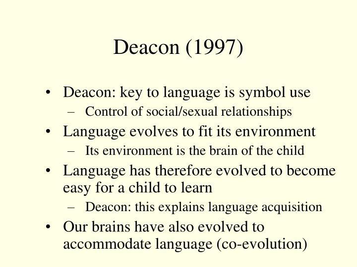 Deacon (1997)