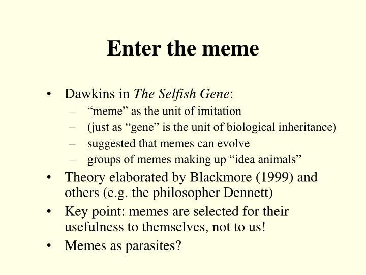 Enter the meme