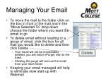 managing your email1