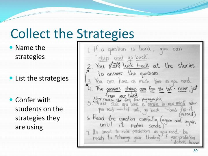 Collect the Strategies