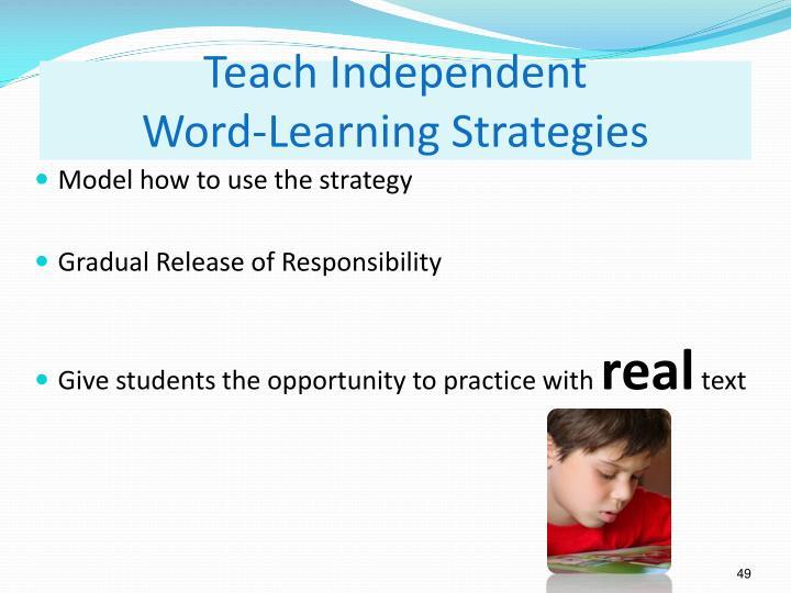 Teach Independent