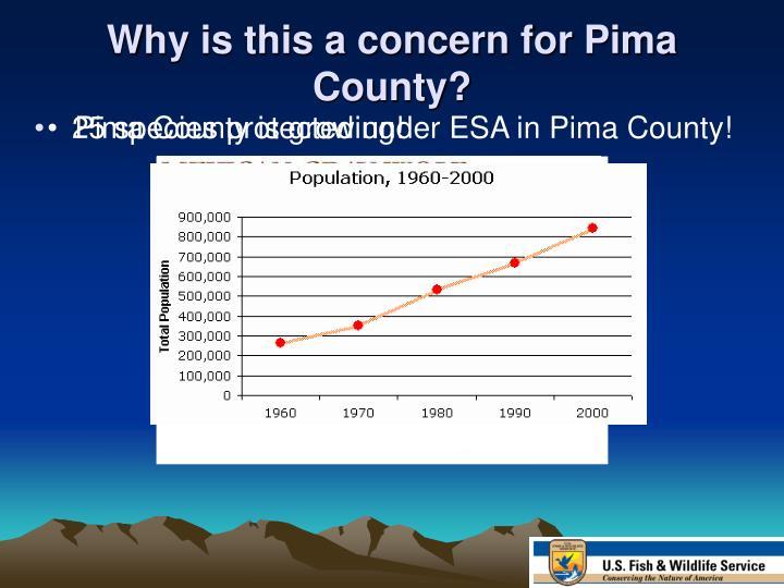 Pima County is growing!