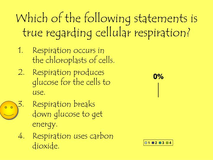 Which of the following statements is true regarding cellular respiration?