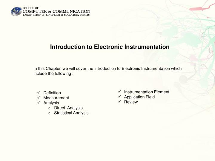 Introduction to Electronic Instrumentation