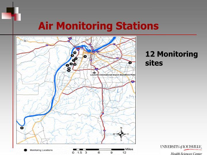 Air Monitoring Stations