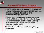 recent eoh recruitments1