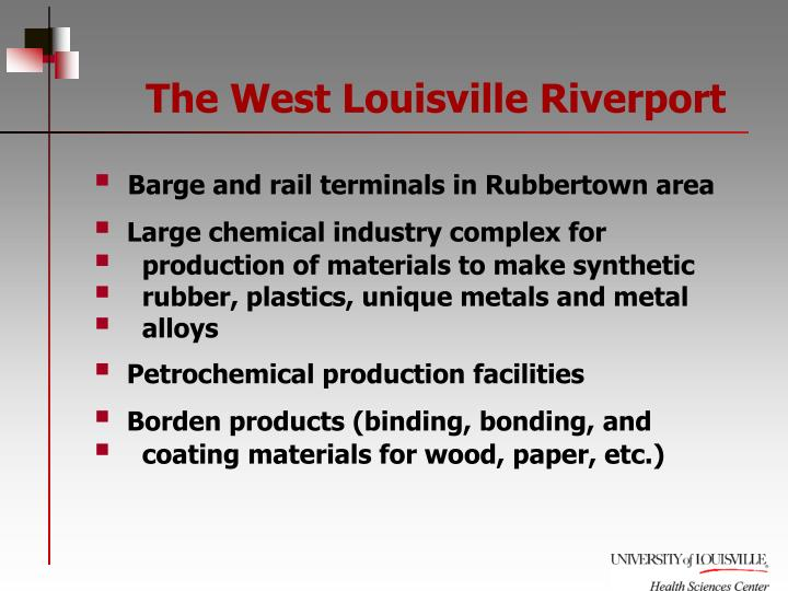 The West Louisville Riverport