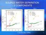 source water separation 2 components
