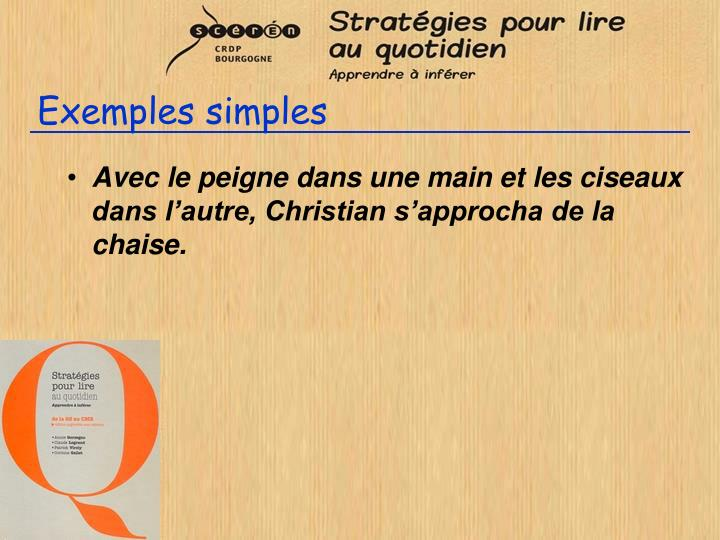 Exemples simples