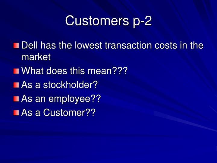Customers p-2