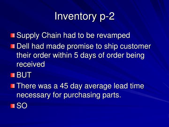 Inventory p-2